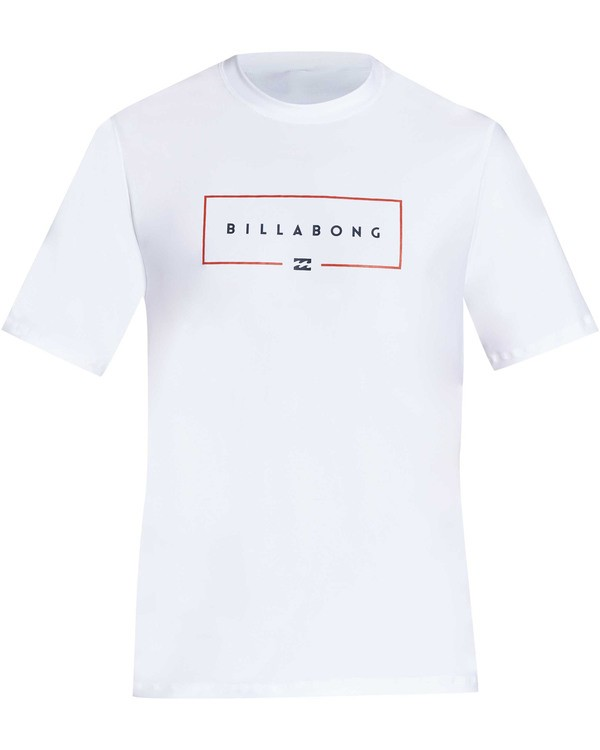 0 UNION LF SS White BR06TB01 Billabong