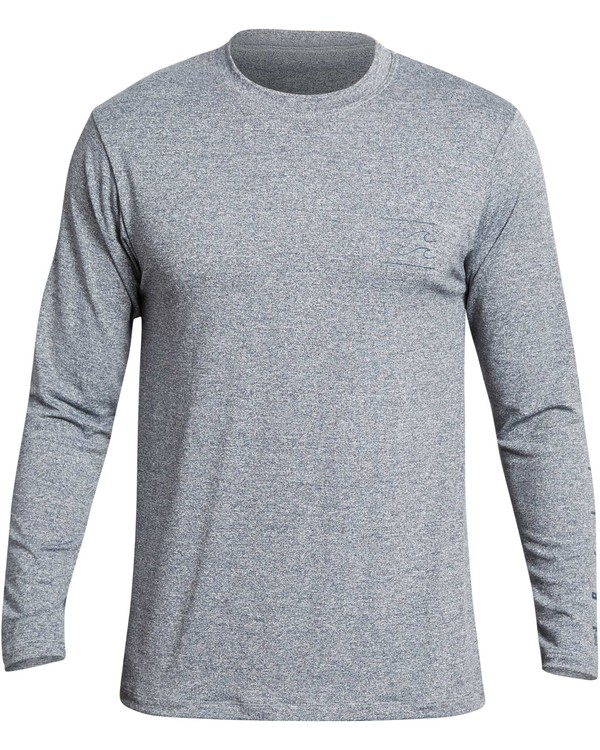 0 UNITY SLEEVE LF LS Grey BR55QBUL Billabong