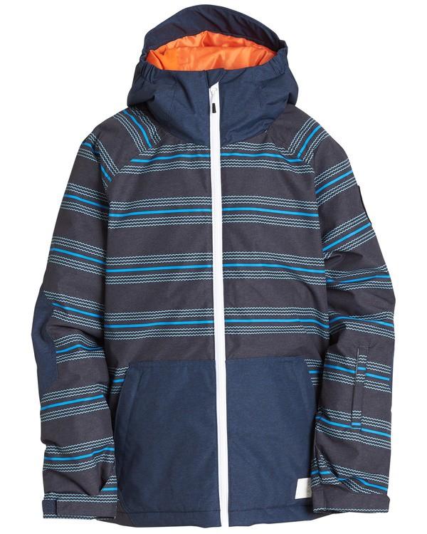 0 Boys' All Day Outerwear Jacket Blue BSNJQADI Billabong