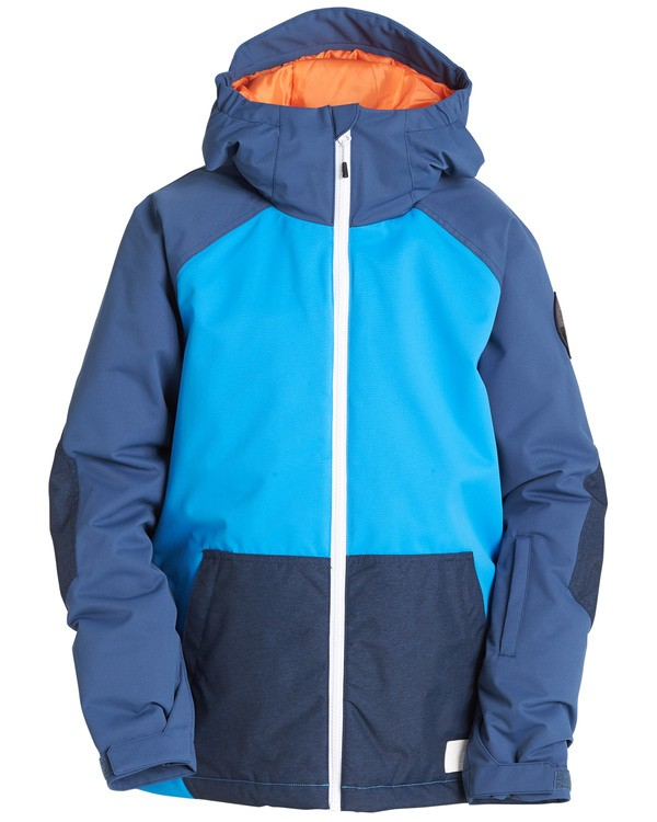 0 Boys' All Day Outerwear Jacket Blue BSNJQADI Billabong