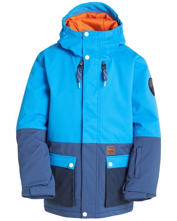 0 Boys' Fifty 50 Outerwear Jacket Blue BSNJQFIF Billabong