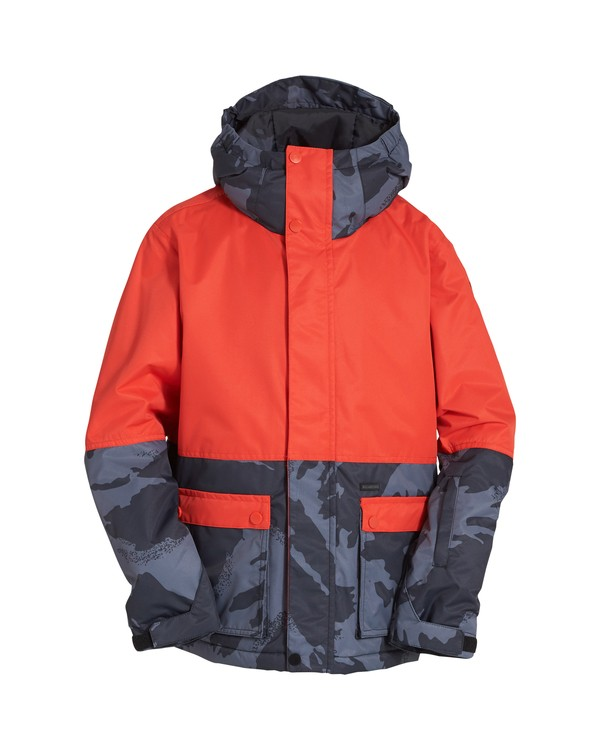 0 Boy's Fifty 50 Jacket Orange BSNJVBFF Billabong
