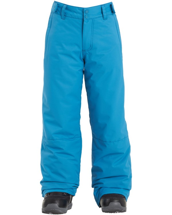 0 Boys' Snow Pant Blue BSNP3BGP Billabong