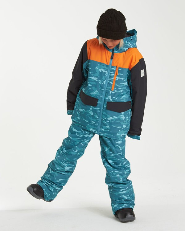 0 Boys' Snow Pant Black BSNP3BGP Billabong