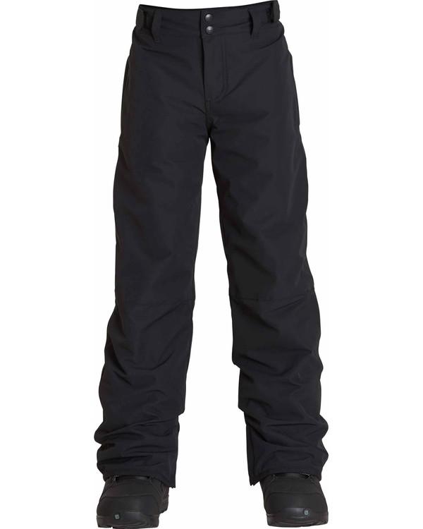 0 Boys' Grom Snow Pants Black BSNPLGRM Billabong