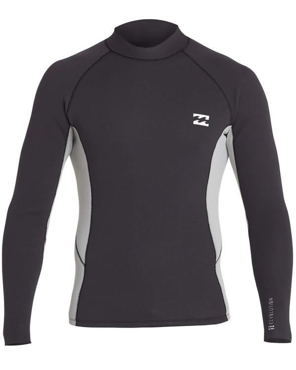 0 Boys' 2mm Revolution Interchange Reversible Wetsuit Jacket  BWSHNBT2 Billabong