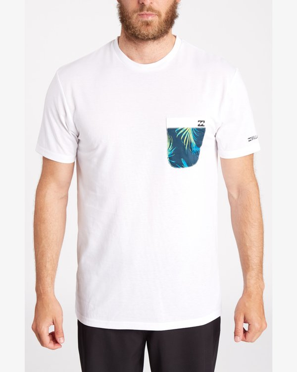 0 TEAM POCKET SS SURF TEE  C4EQ01BIP7 Billabong