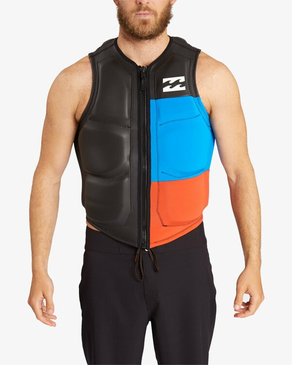 0 TRI BONG WAKE VEST NON CGA Black C4VS03BIP7 Billabong