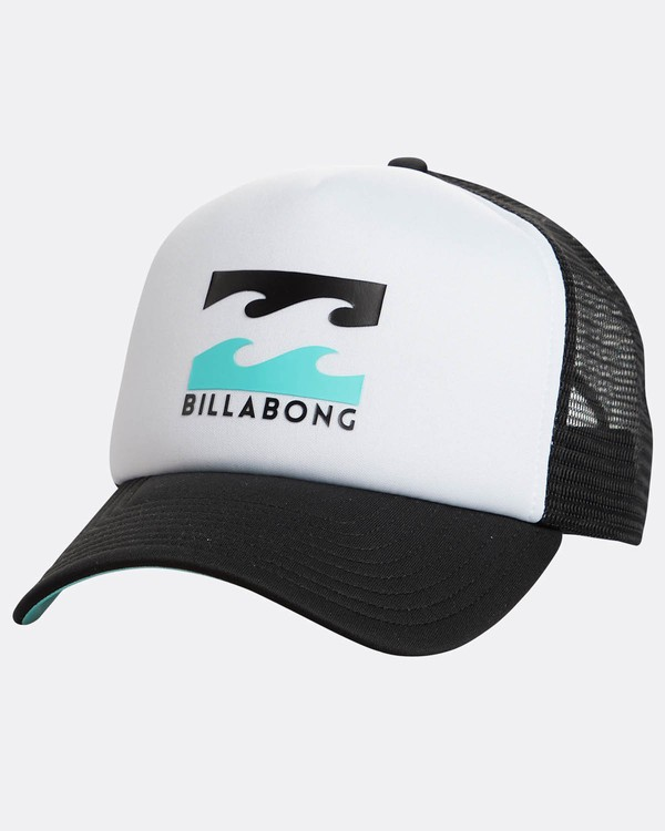0 Podium Trucker Hat White C5CT01BIP7 Billabong