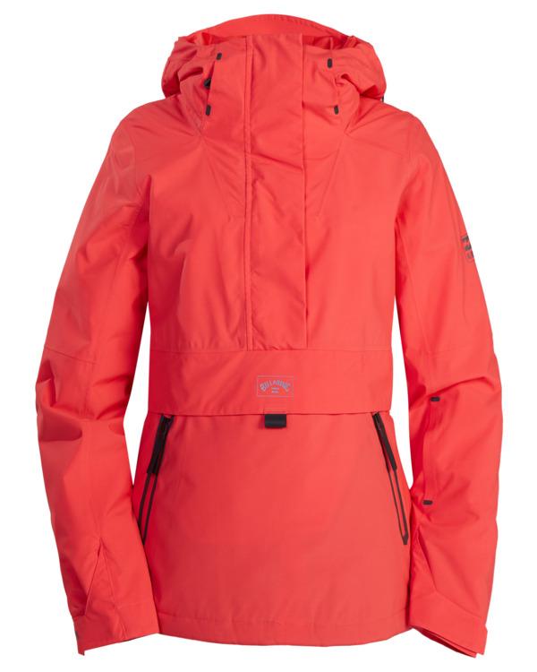 0 Passage Anorak Snow Jacket Red EBJTJ00111 Billabong