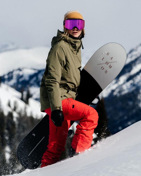 0 Nela Snow Pants Red EBJTP00100 Billabong