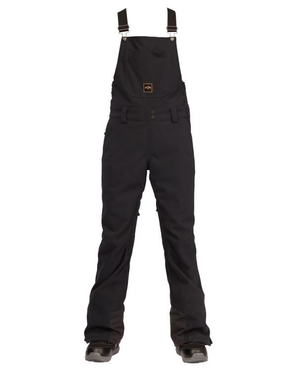 0 Riva Bib Snow Pants Black EBJTP00107 Billabong