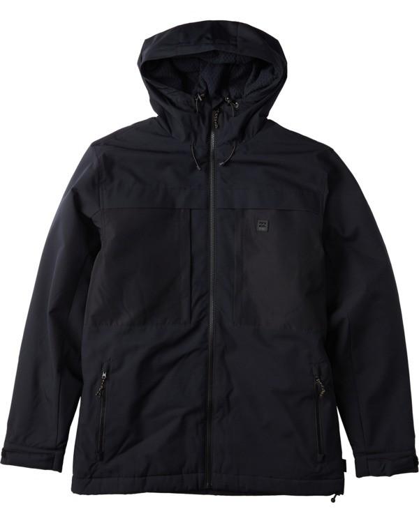 0 Cliff Stretch 10K Jacket Black EBYJK00101 Billabong