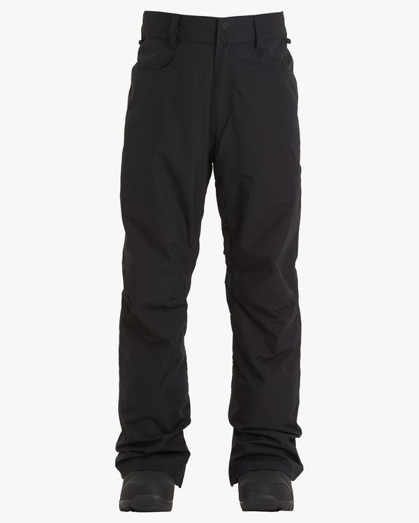 0 Outsider Snow Pants Black EBYTP00102 Billabong