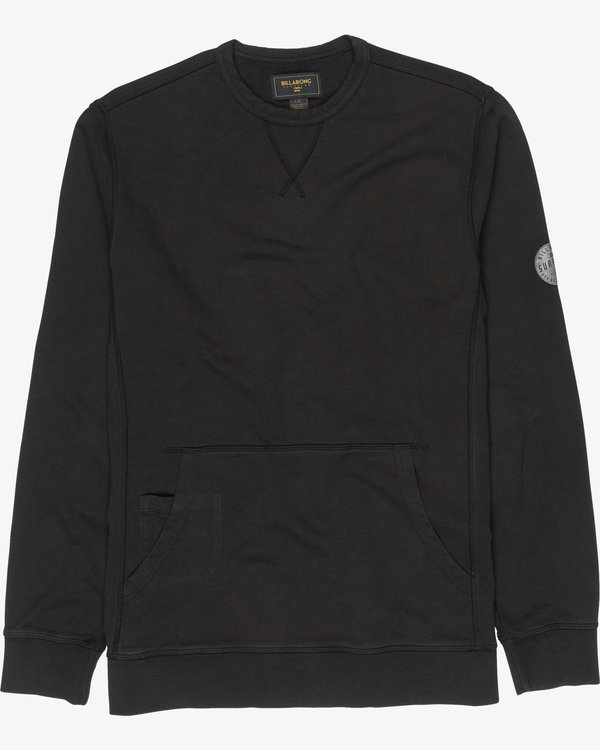 0 WAVE WASHED CREW Black F1FL04BIF7 Billabong