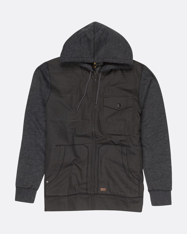 0 BARLOW HYBRID JACKET Grey F1FL24BIF7 Billabong