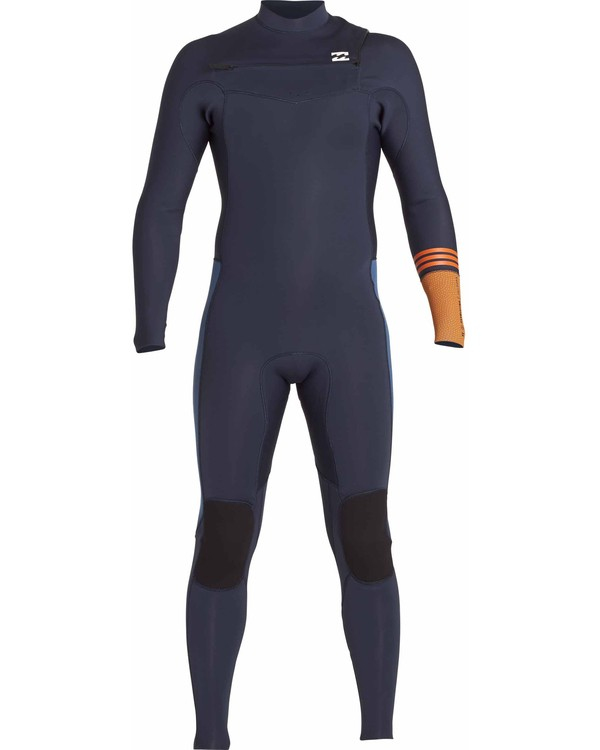0 3/2 Boys Revolution Tribong Chest Zip Wetsuits Gris F43B12BIF7 Billabong