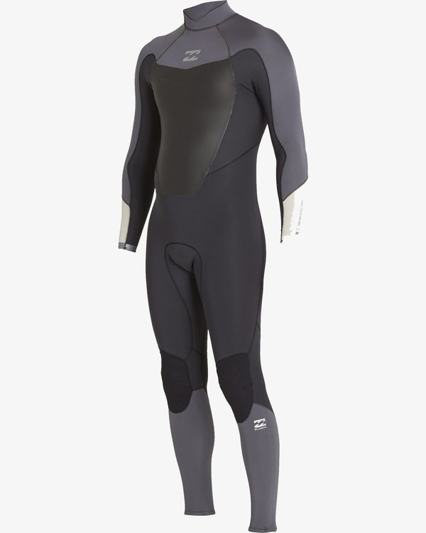 0 3/2 Absolute-Comp Back Zip Wetsuits Black F43M22BIF7 Billabong