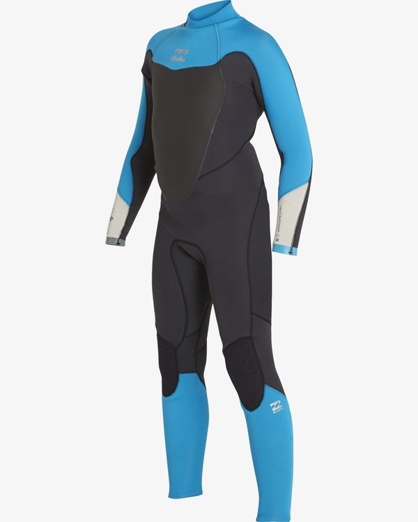 0 4/3 Boys Absolute Back Zip Wetsuits Black F44B14BIF7 Billabong
