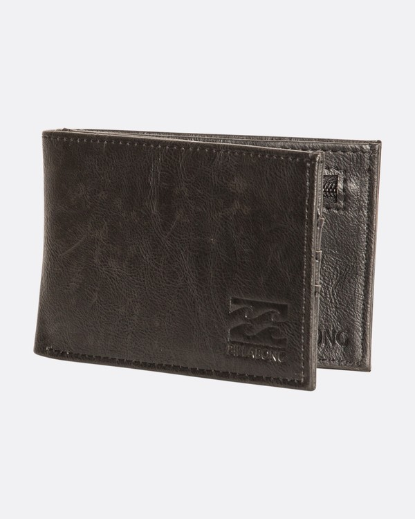 0 Revival Flip Wallet Black F5WM01BIF7 Billabong