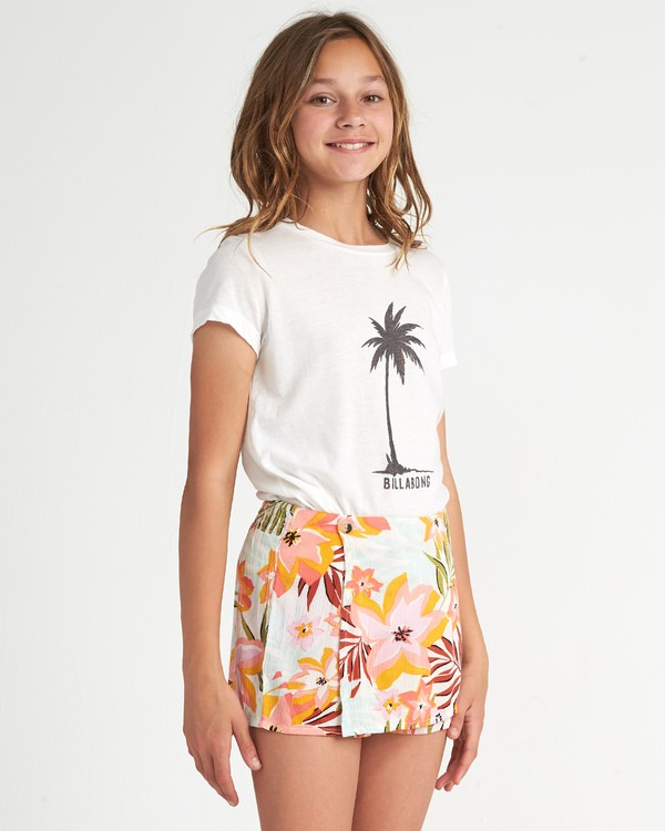 0 Girls' Skirt It Over Grey G2011BSK Billabong