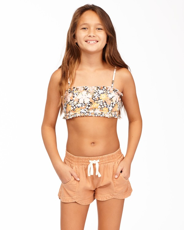 0 Girls' Mad For You Shorts Brown G203JMAD Billabong