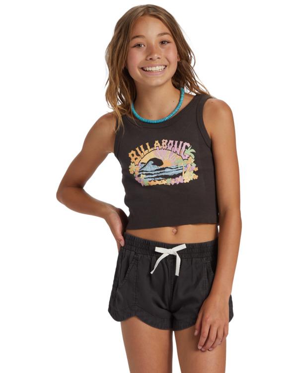 0 Girls' Mad For You Shorts Black G203JMAD Billabong