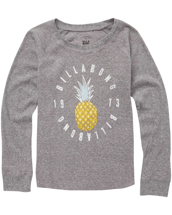 0 Girls' Pineapple Dream Thermal Long Sleeve T-Shirt  G413QBPI Billabong