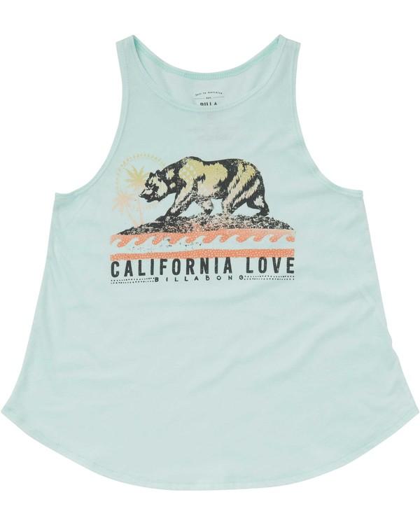 0 Girls' Love Cali Bear Tank  G414PBLO Billabong
