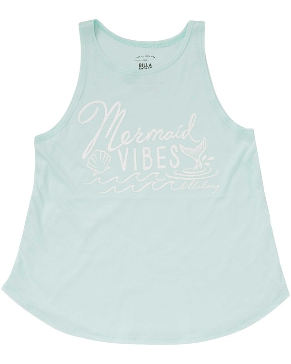 0 Girls' Mermaid Vibes Tank  G414PBME Billabong