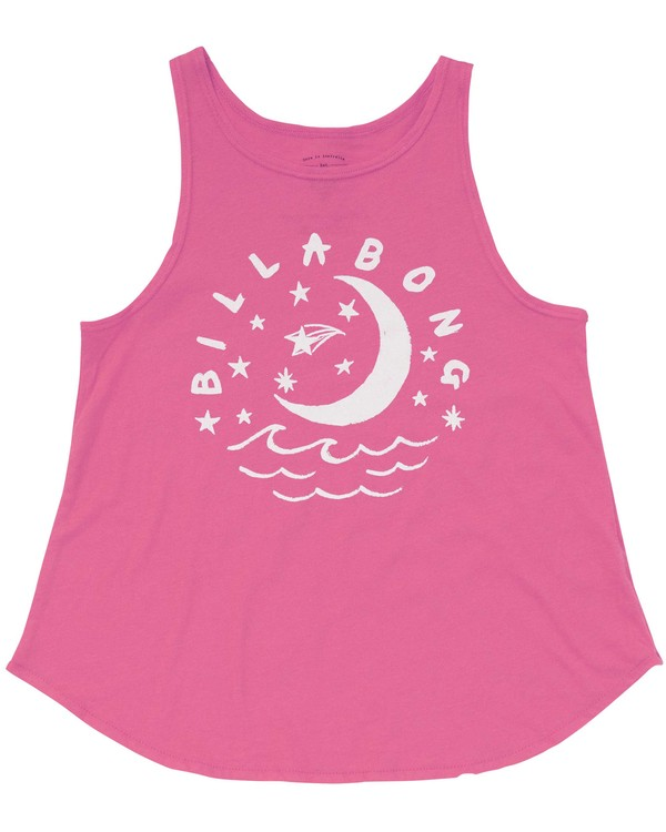 0 Girls' Night Sky Tank Pink G414PBNI Billabong