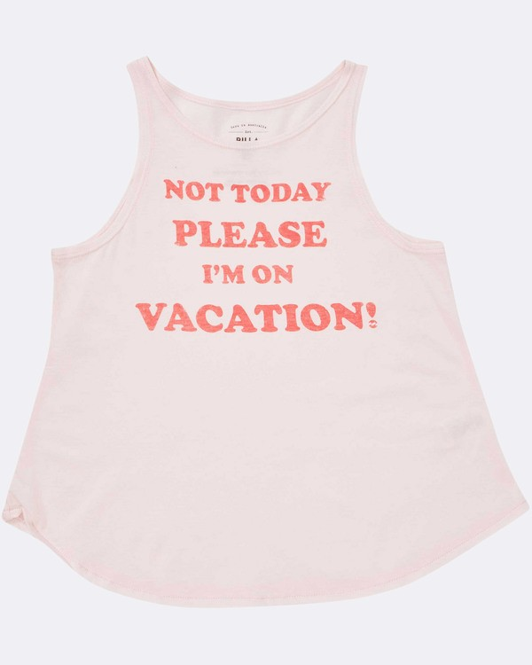 0 Girls' Vacay Tank Top  G414TBVA Billabong