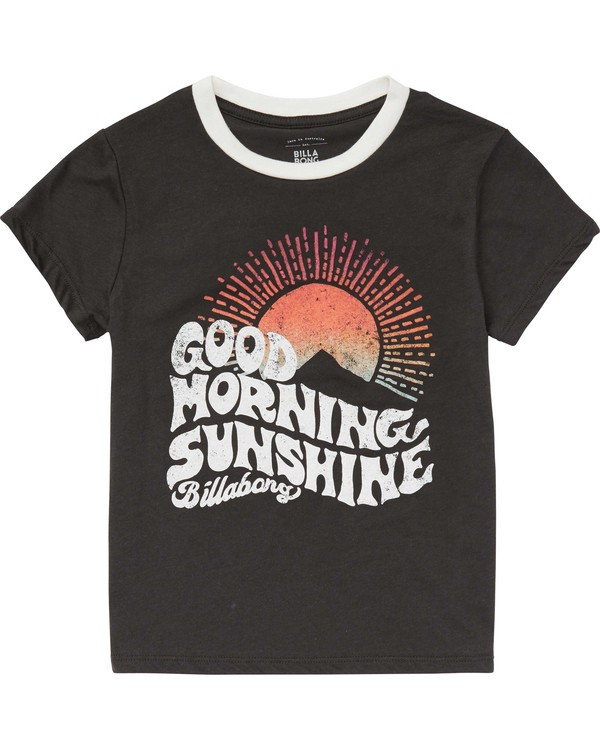 0 Girls' Good Morning Tee  G416PBGO Billabong