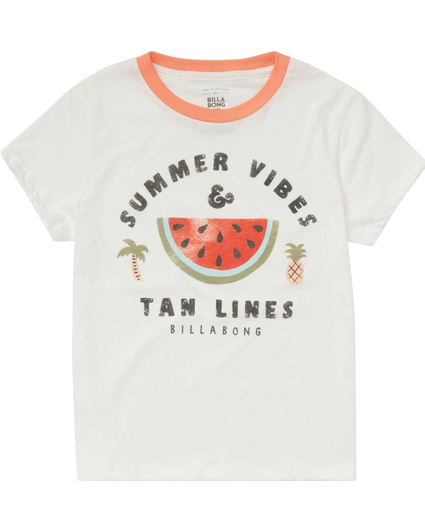 0 Girls' Summer Vibes T-Shirt  G416PBSU Billabong