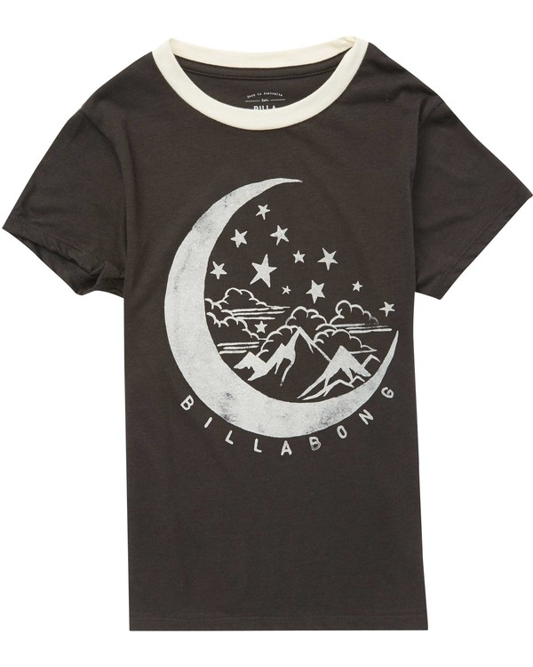 0 Girls' Over The Moon T-Shirt  G416QBOV Billabong