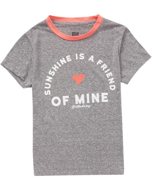 0 Girls' Sunshine T-Shirt  G416QBSU Billabong