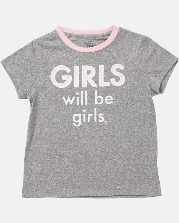 0 Girls' Girls' Being Girls' Tee Pink G416SBGI Billabong