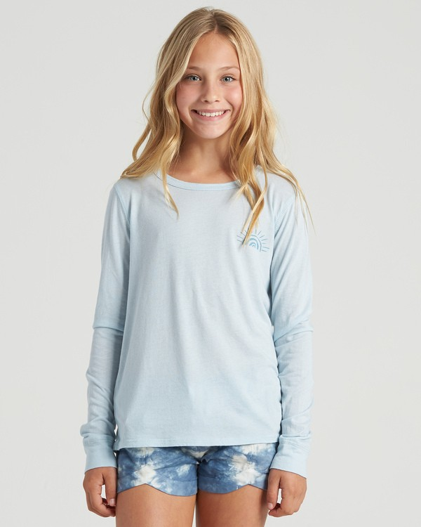 0 Girls' Show Gratitude Long Sleeve T-Shirt Multicolor G4203BSH Billabong