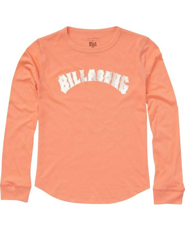 0 Girls' Heritage Long Sleeve T-Shirt  G420PBHE Billabong