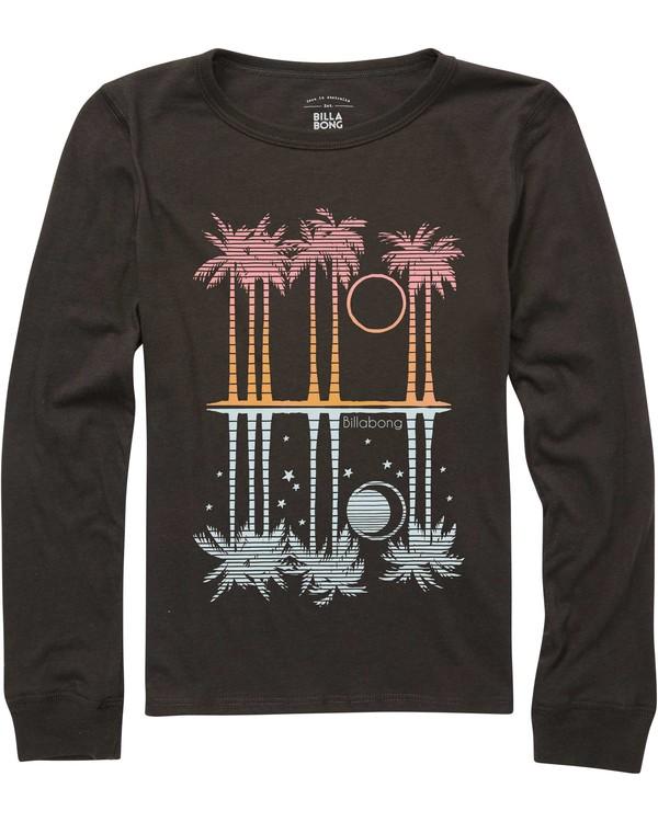 0 Girls' Ocean View Long Sleeve T-Shirt  G420QBOC Billabong