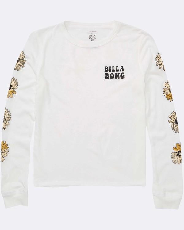 0 Girls' Daisy Days Long Sleeve T-Shirt  G420TBDA Billabong