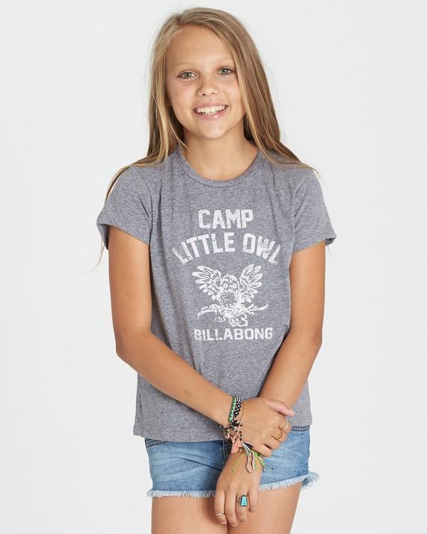 0 Girls' Little Owl Tee  G484KLIT Billabong