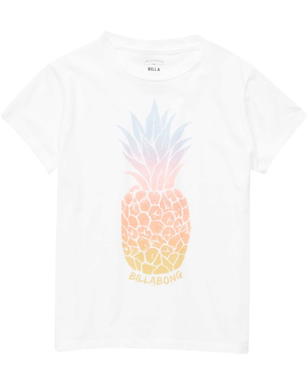 0 Girls' Colorful Pineapple Tee  G484NBCO Billabong