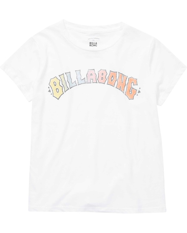 0 Girls' Logo Spirit Tee  G484NBLO Billabong