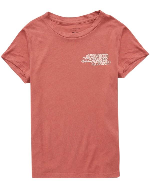 0 Girls' Mermaid Power T-Shirt  G484QBME Billabong