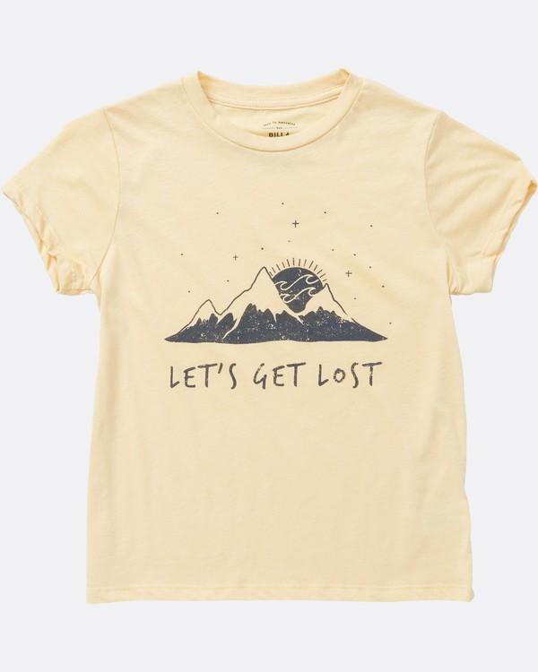 0 Girls' Get Lost T-Shirt  G484SBGE Billabong