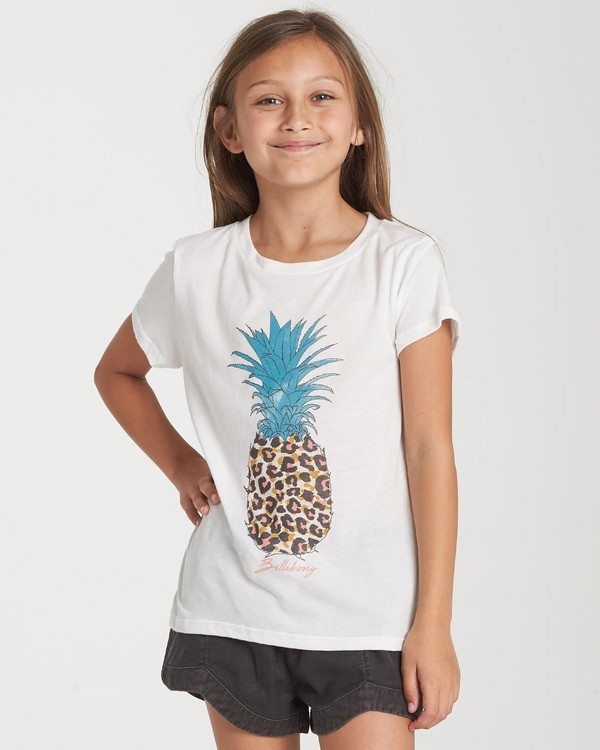 0 Girls' Party Animal T-Shirt Beige G484WBPA Billabong