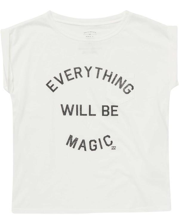 0 Girls' Be Magic Tee  G491NBBE Billabong