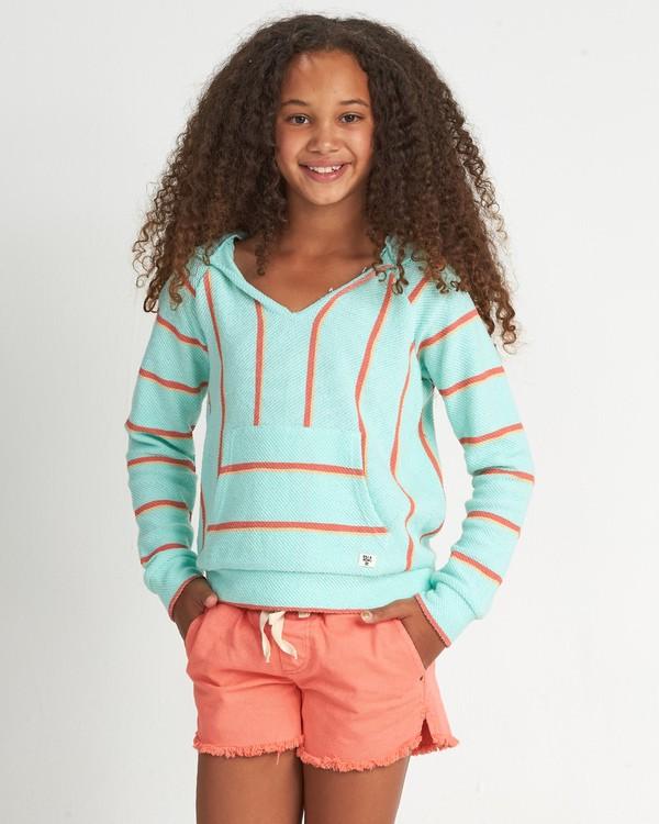 0 Girls' Sandy Stripes Multicolor G601WBSA Billabong