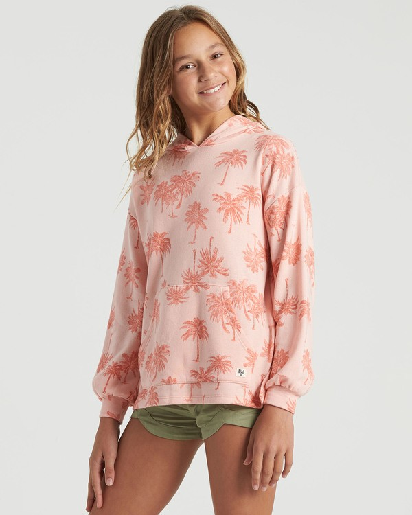 0 Girls' Palms Forever Sweatshirt Multicolor G6033BPA Billabong